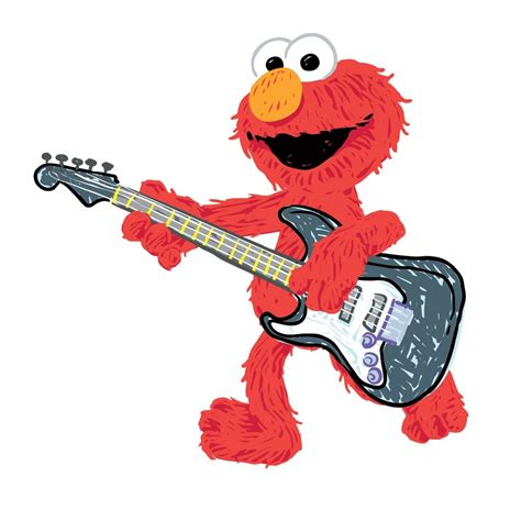 elmo wall stickers new large elmo rock roll wall decals sesame
