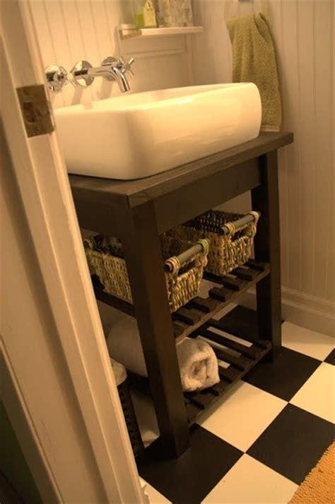 ikea hack bathroom vanity ikea bekvam kitchen cart turned vanity diy pinterest