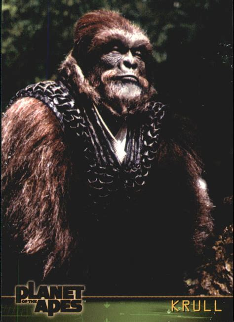 Planet Apes 2001 Full Movie 2001 Planet Of The Apes Movie 6 Krull Ebay