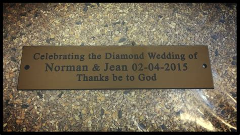 engraved plaques for benches the green i signs blog engraved bench plaques supplied