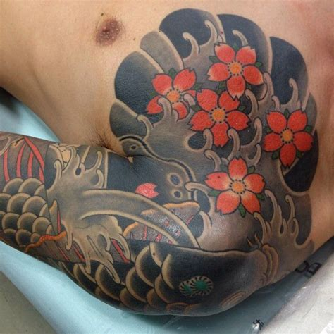 tattoo koi sakura 418 best images about japanese tattoos on pinterest half