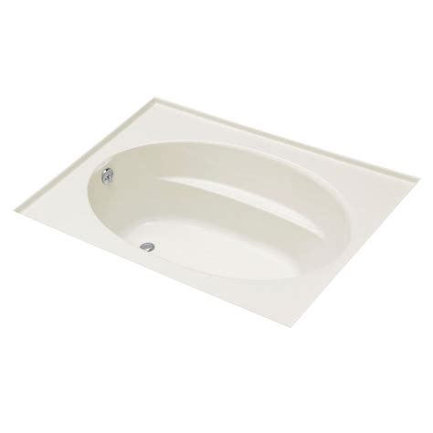 bathtub drain flange kohler windward 5 ft left hand drain with three sided