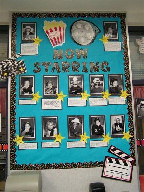 hollywood bulletin boards  pinterest hollywood theme