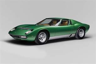 Early Lamborghini Lamborghini Completely Restored The Miura Sv For The