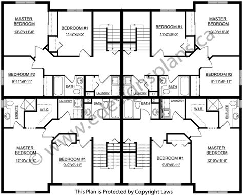 4 plex apartment floor plans 4 plex floor plans thefloors co