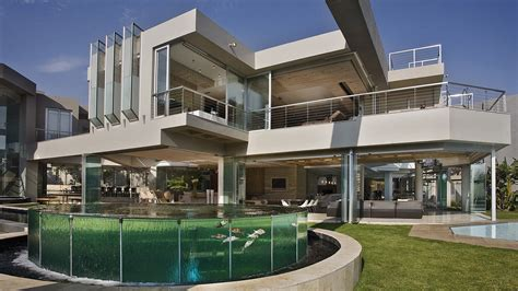 Modern Glass House glass house by nico van der meulen architects