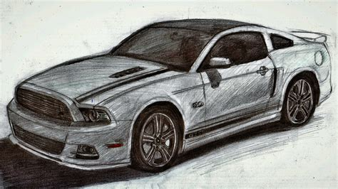 mustang drawing drawing of a mustang pixshark com images galleries