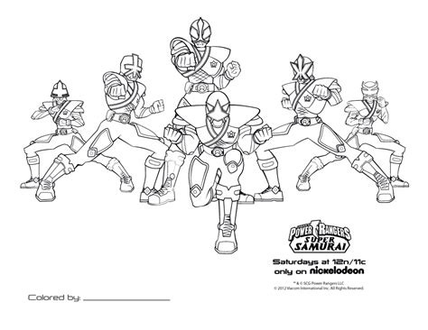 printable coloring pages power rangers samurai printable power rangers coloring pages coloring home