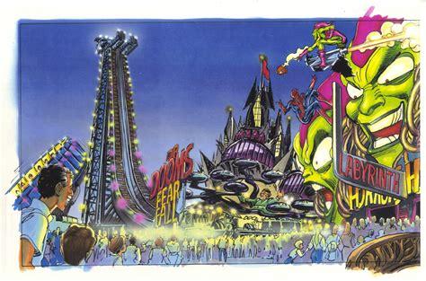theme park hero universal island s of adventure marvel super hero concept