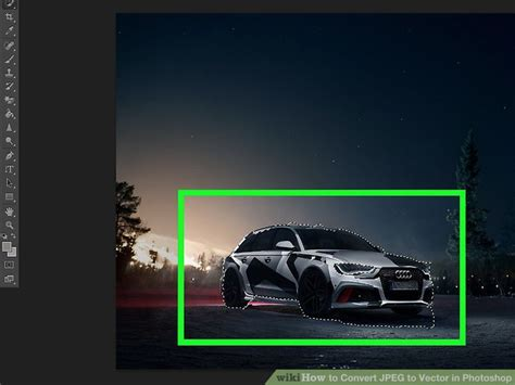 How To Convert Photoshop Image To Vector