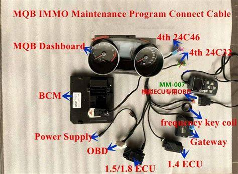 vw mqb test platform full set  dashboard