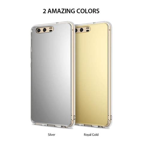 Ringke Fusion For Huawei P10 P 10 Plus Clear Transparant White huawei p10 plus ringke 174 fusion mirror bright reflection radian