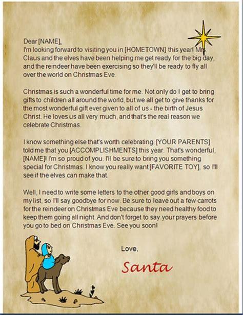 free printable religious letter from santa printable christian santa letters