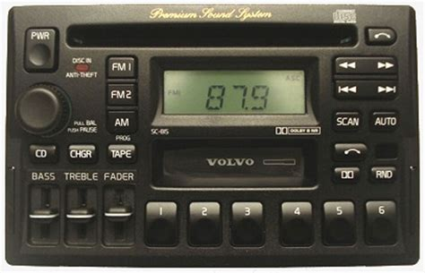 1996 1997 Volvo 850 Factory Stereo AM/FM Tape CD Player