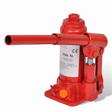 Hydraulic Bottle Jack 2 Ton Red Car Lift Automotive | www ... Hydraulic Car Bottle Jack