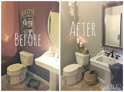 best paint color for powder room with no windows little brags a little make over in the powder room