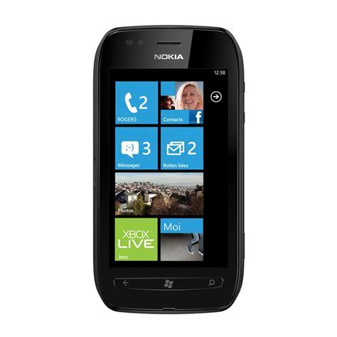 nokia 710 mobile nokia lumia 710 front view
