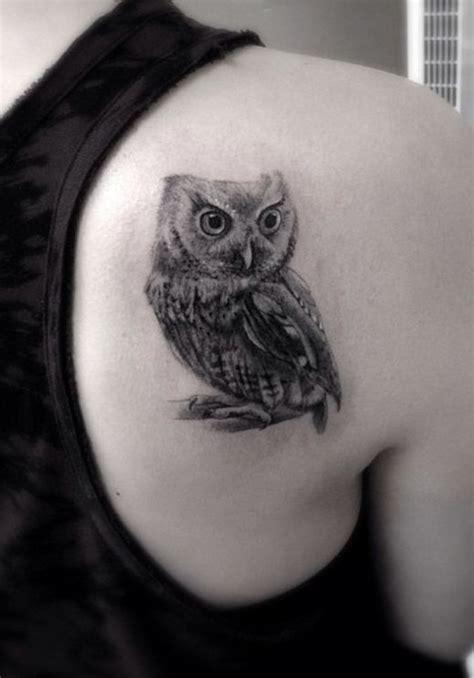 owl tattoo minimalist black owl minimalistic style tattoo tattoomagz
