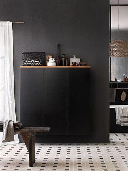Schwarzes Kabinett Badezimmer by N 243 G Ein Stilvolles Badezimmer Wohnideen Einrichten