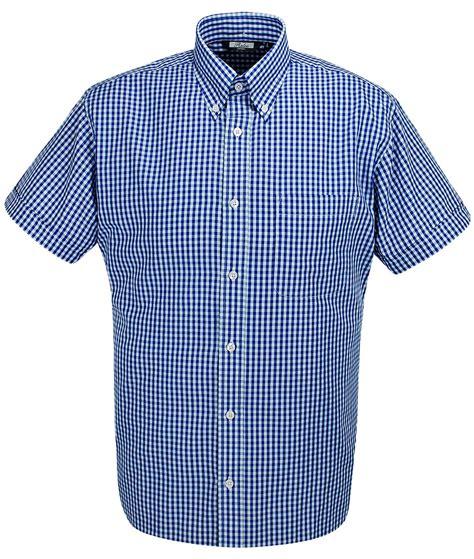 Gingham Shirt relco blue white gingham shirt modfellas mens