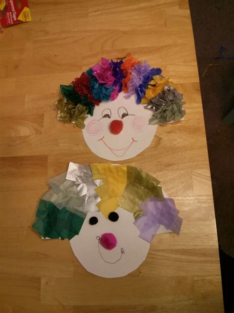 circus crafts for 12 best images about preschool theme circus on