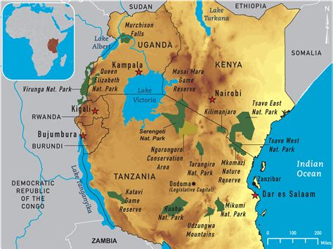 east africa map map of east africa 2011