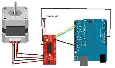 tutorial arduino servo motor tutorial stepper motor easy driver arduino