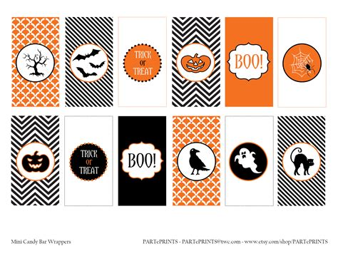 printable halloween decorations free halloween printables from parteprints catch my party