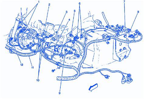 chevrolet venture ls  upper transmission electrical
