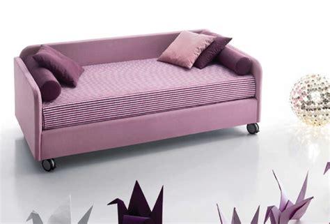letto singolo a divanetto letto in tessuto antares divano imbottito per la cameretta