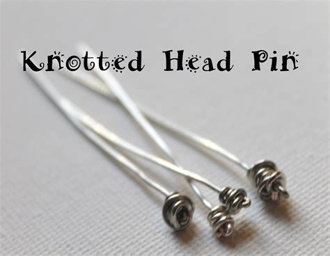 Knotted Pin Tutorial Emerging Creatively