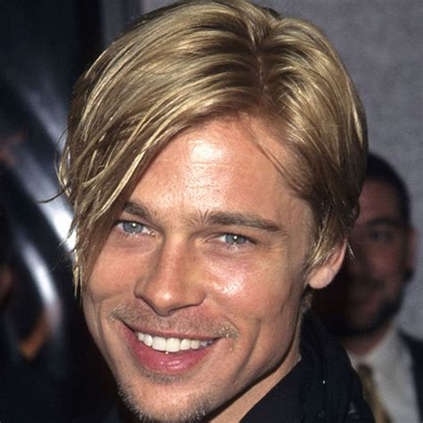 brad pitt decides to grow out forehead hair brad pitt brad pitt hairstyles men s hairstyles haircuts 2018