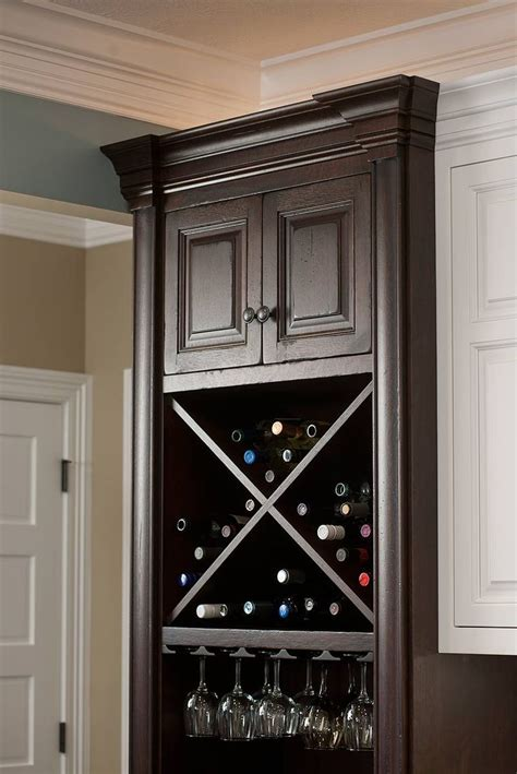 kitchen cabinet wine rack pin by elizabeth copeland on kitchens