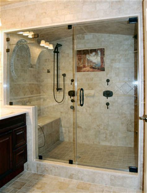 Steam Clean Shower Doors Door And Panel Steam Shower In Rubbed Bronze Using Cls Featured On Hgtv S Quot It Or