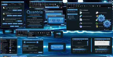 computer black themes download quantria wb windows xp theme themes for pc