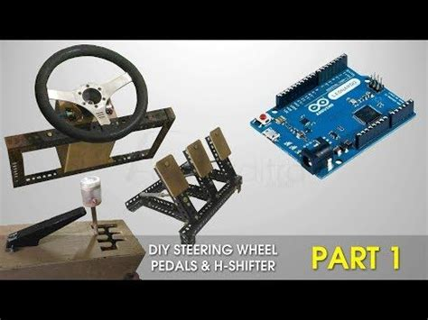 Harga Diy Steering Wheel Arduino by Diy Steering Wheel Pedals H Shifter Arduino Part 1