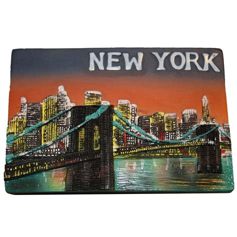 New York souvenir Fridge magnet - Gift Man Fridge Magnet Toys