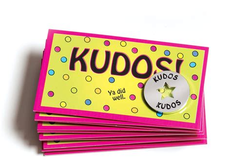 kudo cards templates kudos kit set of 32 kudos items