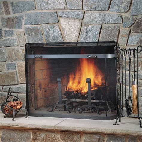 Fireplace Guard by Sgbb Series Spark Guard Custom Sizes Available Pilgrim
