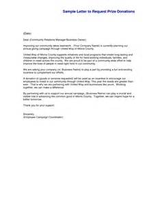 sample cover letter giving donation 1