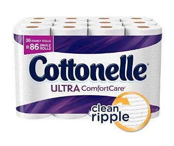 cottonelle ultra comfort care cottonelle ultra comfortcare toilet paper bath tissue 36