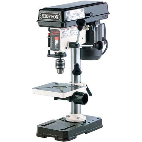 bench top drill press shop fox w1667 benchtop oscillating drill press