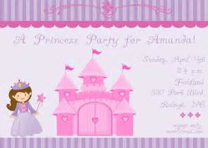 princess letter template princess invitation wording template best template