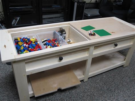 lego coffee table projects