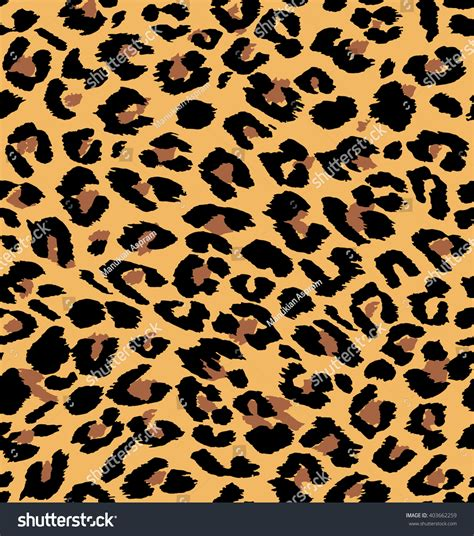 pattern leopard vector vector leopard seamless pattern animal print stock vector