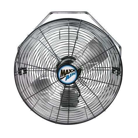 maxxair wall mount fan maxxair 18 in 3 speed wall mount fan with wi fi controls