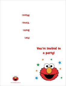 free printable elmo birthday invitations template elmo free printable birthday invitation personalized