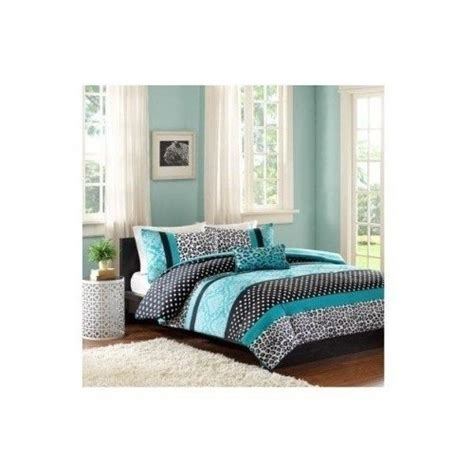 teal teen bedding comforter bed set teen bedding modern teal black animal print girls bedspead update