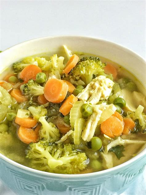 Detox Vegetables Soup by Chicken Detox Soup Together As Family