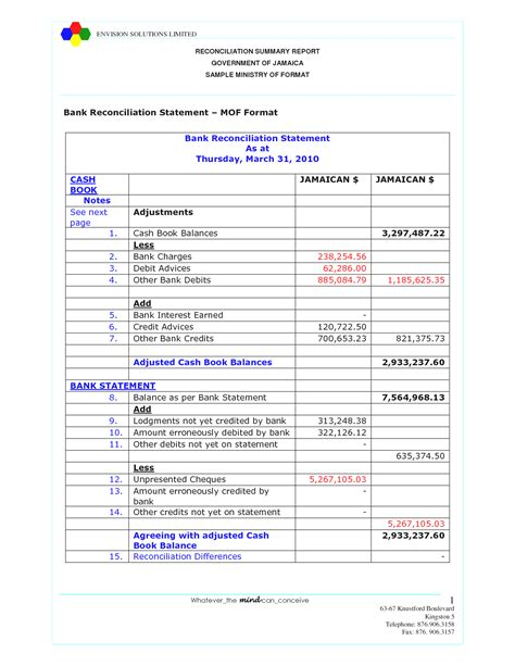free bank reconciliation template pictures reconciliation worksheet getadating